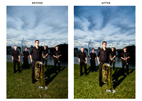 UM Brass Group - before & after