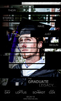 "The Graduate Legacy - inspired by ""The Bourne Legacy"" movie poster"