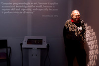 Donald Knuth @ the Computer History Museum