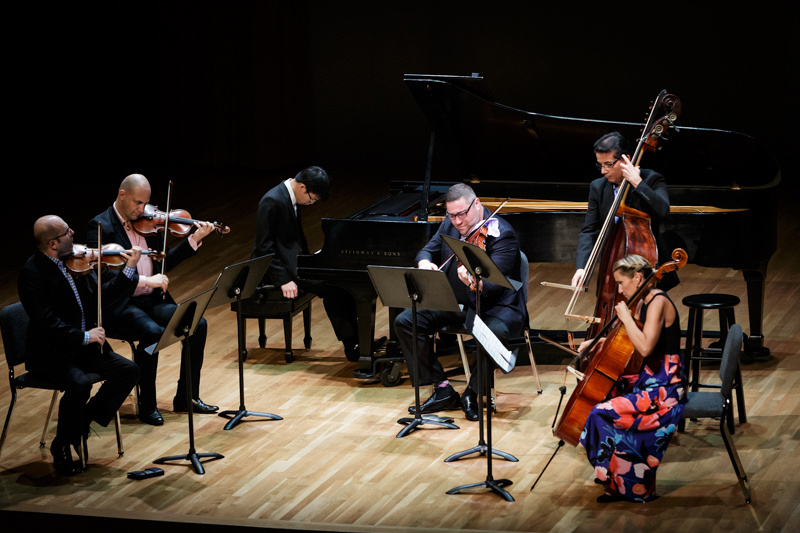 The Chopin Festival Stars of the Academy accompanied by the Amernet String Quartet